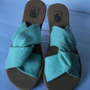 222d446ece4e29 Vans Shoes - Vans Ayla Slide (Suede)